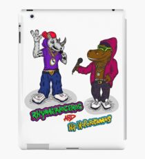 FLIGHT OF THE CONCHORDS - THE HIPHOPOPOTAMUS AND THE RHYMENOCEROS - TOGETHER ON THE ONE SHIRT iPad Case/Skin