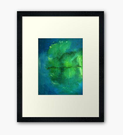 Attenborough reflections Framed Print