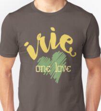 Jamaica Irie  One Love  Unisex T-Shirt