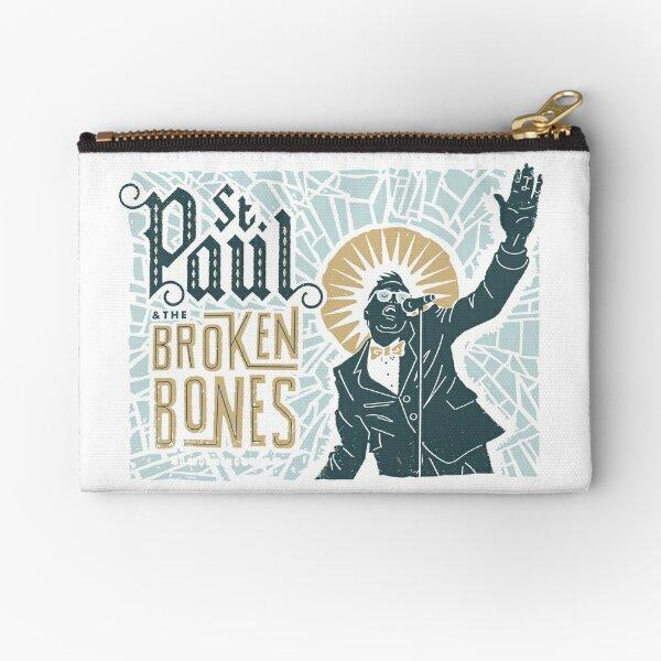 Broken Bones Zipper Pouch