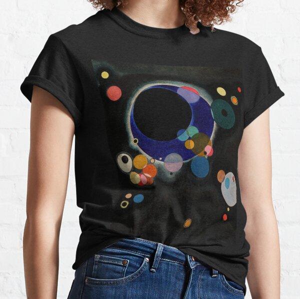 Wassily Kandinsky - Several Circles - Bauhaus Art Classic T-Shirt