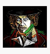 Dr. Who Tom Baker Photographic Print