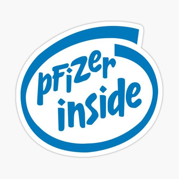 Pfizer Inside Sticker