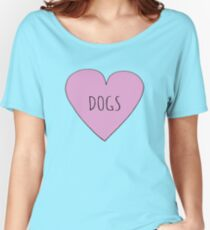 DOG LOVE Women's Relaxed Fit T-Shirt