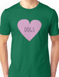 DOG LOVE Unisex T-Shirt