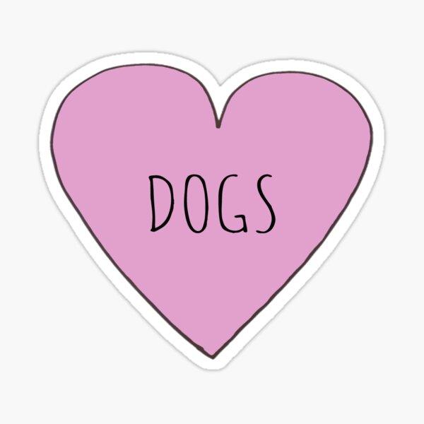 DOG LOVE Sticker