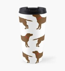 Chocolate Labradors Travel Mug