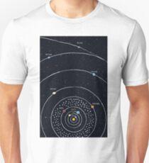 Camiseta ajustada Sistema solar