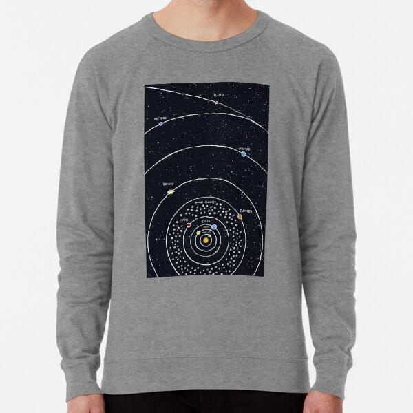 Sistema solar Sudadera ligera