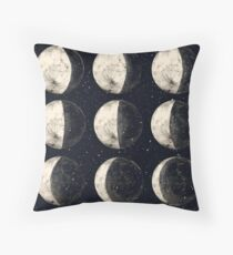 Moon Cycle Throw Pillow