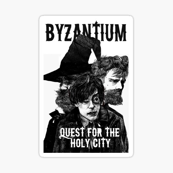 Comic book cover  for Byzantium issue 1 Sticker