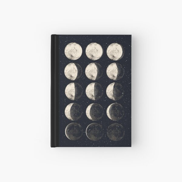 Moon Cycle Hardcover Journal