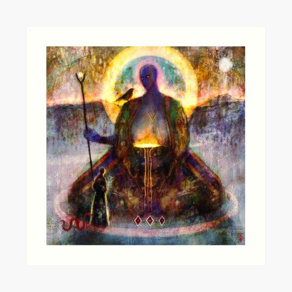 þurhfar - Transcend Art Print
