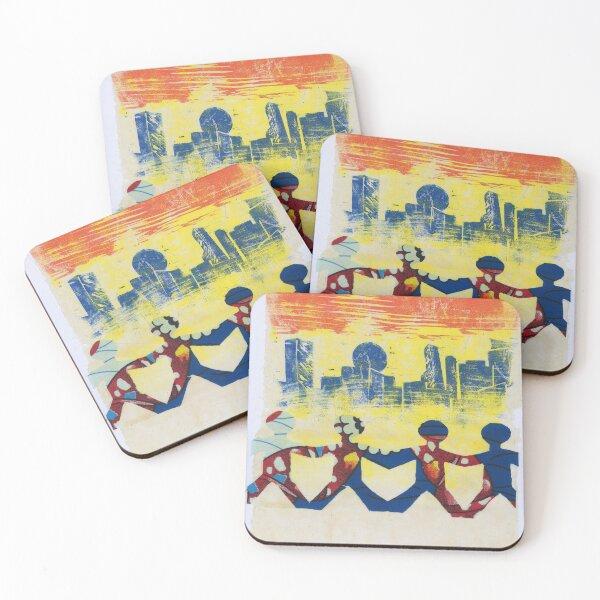 Sunset Coasters (Set of 4)