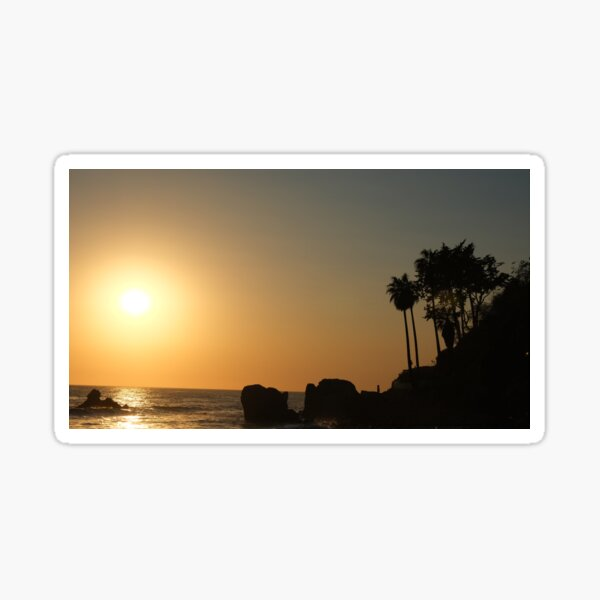 Malibu Beach Sticker