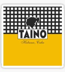 Cuban Cigars Taino Logo Sticker