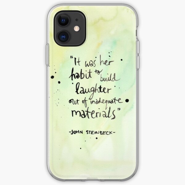 Building Laughter iPhone Soft Case