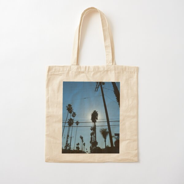 LA Silhouettes  Cotton Tote Bag