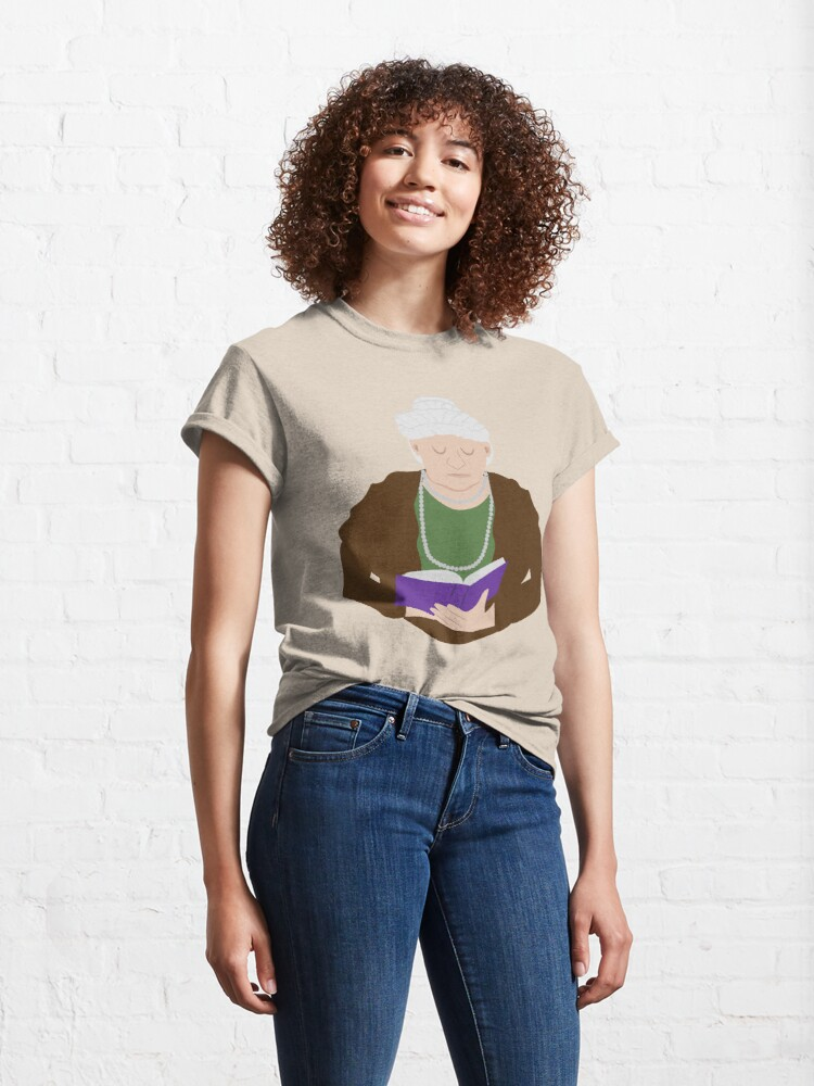 Vista alternativa de Camiseta clásica Emilia Pardo Bazan