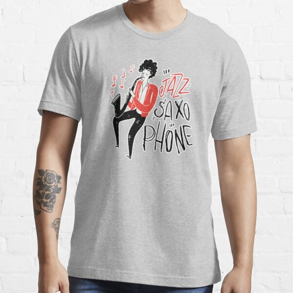 Young man with Saxophone Essential T-Shirt