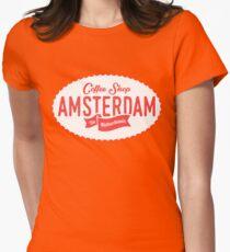 Coffee Shop Amsterdam Logo T-Shirt