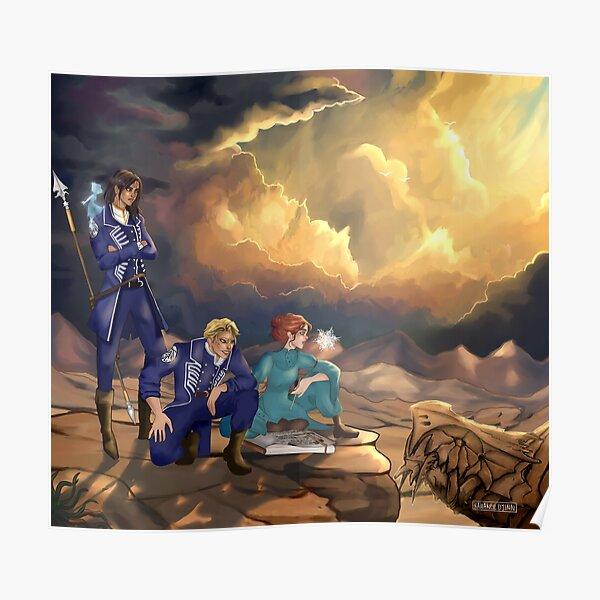 Ilustración de archivo Stormlight Póster