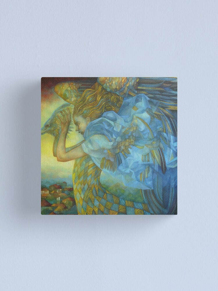 Alternate view of chimera, the sound of the thunder Canvas Print