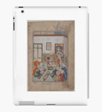 King Salih of Syria Entertaining Two Dervishes iPad Case/Skin