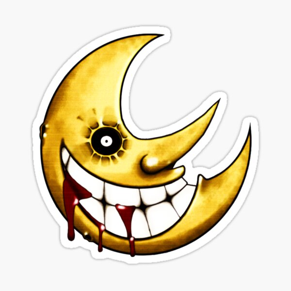 Soul Eater --- Moon Sticker