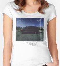 kendrick lamar good kid m.a.a.d city Women's Fitted Scoop T-Shirt