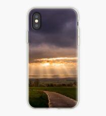 Sunset over Dalheim iPhone Case
