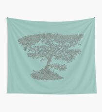 African tree - African tree Wall Tapestry