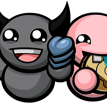 The Binding Of Isaac Afterbirth - Dark Bum and Bum Friend by Withice