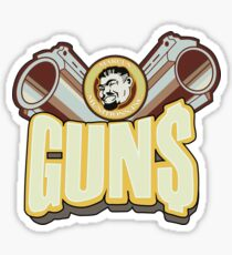 Marcus guns Sticker
