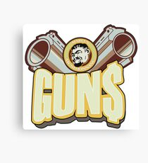 Marcus guns Canvas Print