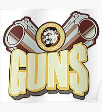 Marcus guns Poster
