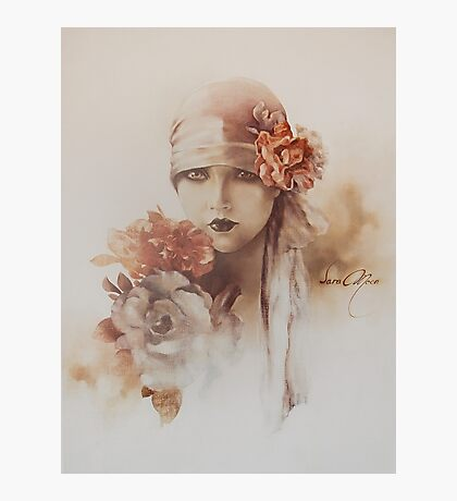 """Claudia"" Oil on Canvas Photographic Print"