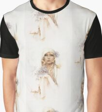 """Sara"" Portrait in Oils Graphic T-Shirt"