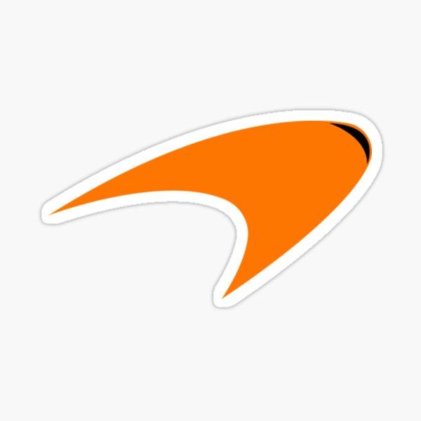Mclaren Mclaren Orange Logo Sticker