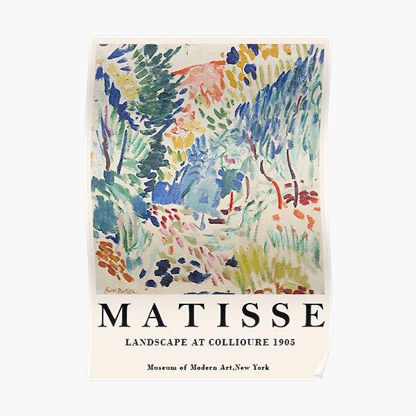 Landschaft bei Collioure - Henri Matisse Poster