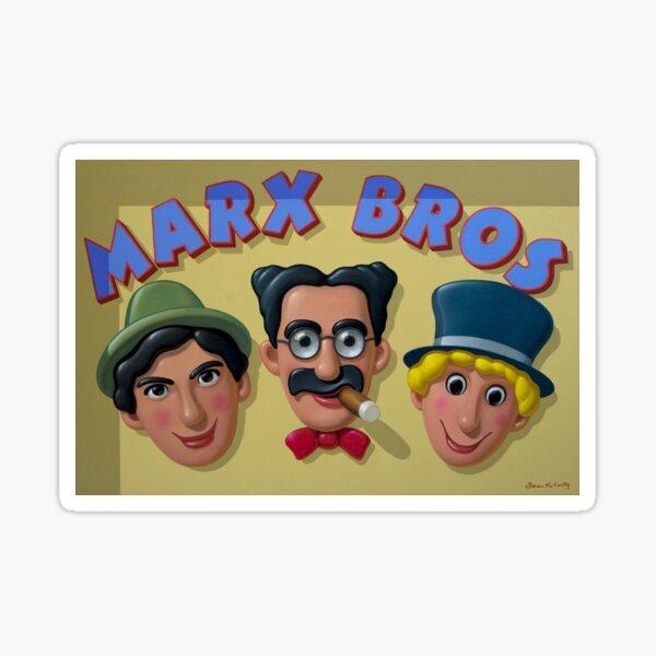 Marx Brothers Sticker
