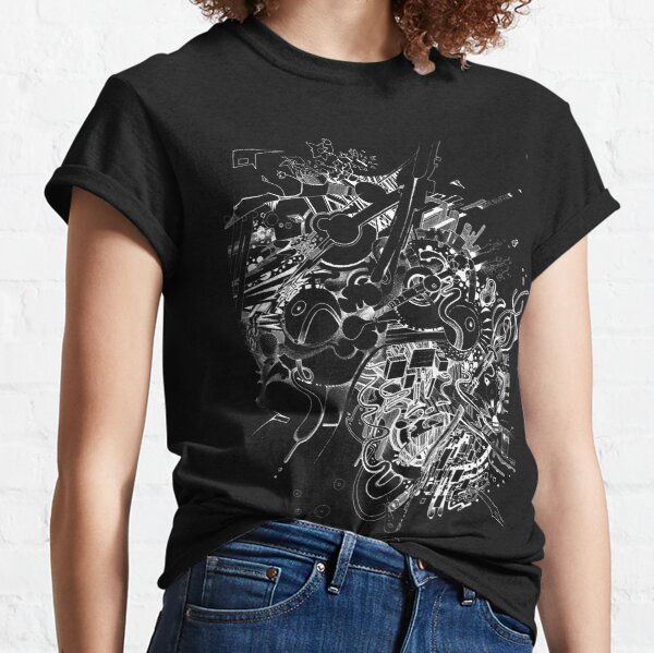 Add the Negative - Illustration - Color it yourself! Classic T-Shirt