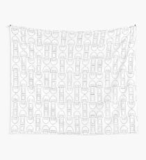 Zippers  Wall Tapestry
