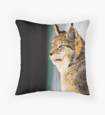 A (big) cat named Bob Throw Pillow