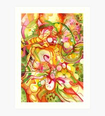 Sunlight Is Free (If You Live At The Top) - Watercolor Art Art Print