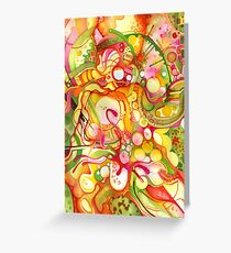 Sunlight Is Free (If You Live At The Top) - Watercolor Art Greeting Card