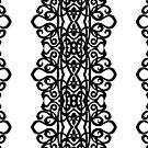 Lace Embroidery Design by MEDUSA GraphicART