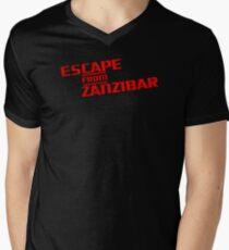 MGS - Escape From Zanzibar Mens V-Neck T-Shirt