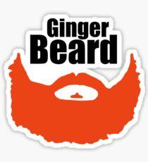 Ginger Beard  Sticker