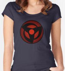 mangekyou sharingan Women's Fitted Scoop T-Shirt